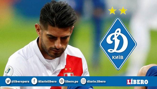Carlos Zambrano tampoco fue considerado en el primer equipo del Dinamo Kiev. Foto: EFE