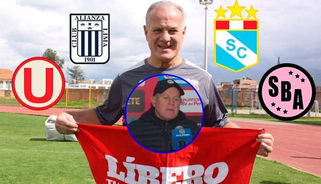 Técnico de Sport Huancayo arremete contra los equipos de Lima tras la victoria de Universitario