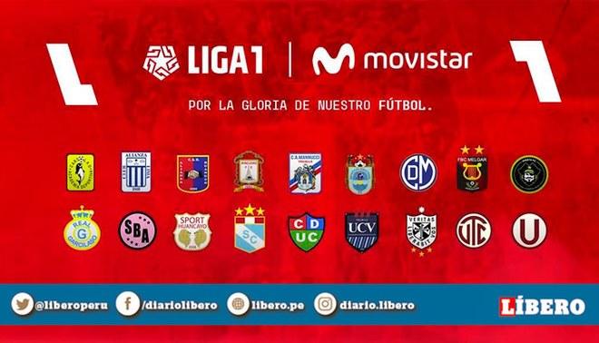 Tabla de posiciones del Acumulado de la Liga 1. Foto: Twitter Liga 1