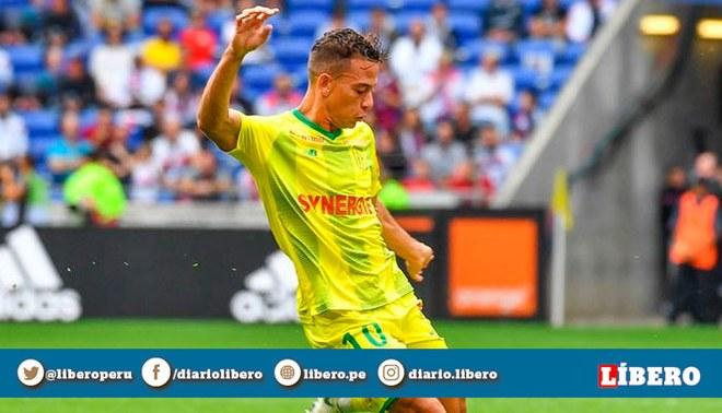 Cristian Benavente participó en la victoria del Nantes, que mete miedo al PSG. | Foto: Instagram