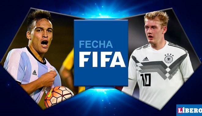 Argentina vs Alemania EN VIVO amistosos FIFA.