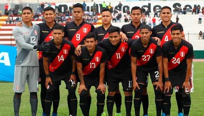 Sub 23 de Perú fue goleado 3-0 por Colombia en el Callao   FOTO: FPF