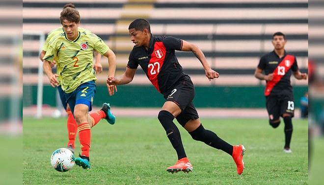 Perú cayó 3-0 ante Colombia en amistoso Sub 23.