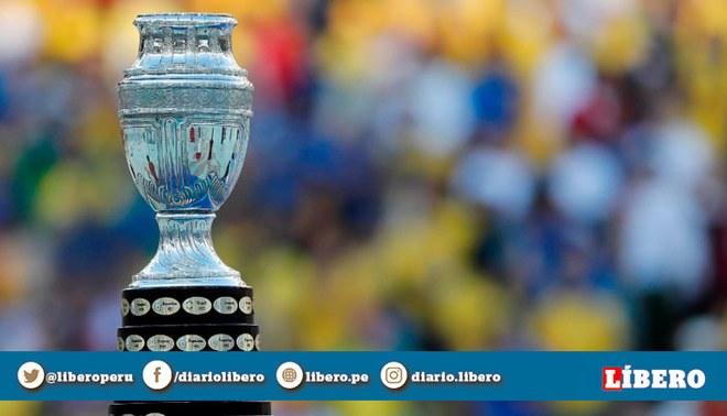 Copa América 2020: Conmebol reveló logo oficial del certamen en Argentina y Colombia. | Foto: AFP