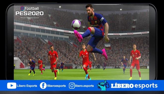 La versión para celulares para eFootball PES 2020 será lanzado a finales de octubre. | Foto: Konami