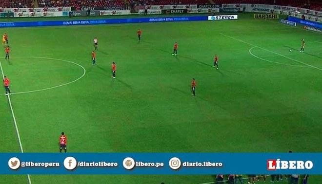 Veracruz se negó a jugar durante 4 minutos, Tigres le hizo 2 goles