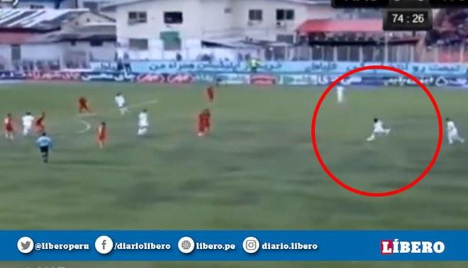 ¡GOLAZO! Willyan Mimbela convirtió su primer gol con el Tractor FC con espectacular tiro libre [VIDEO]