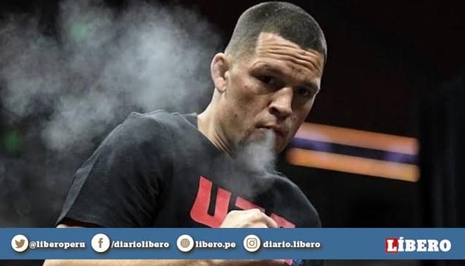 Nate Diaz no podrá pelear contra Jorge Masvidal en el UFC 244. Foto: UFC.com