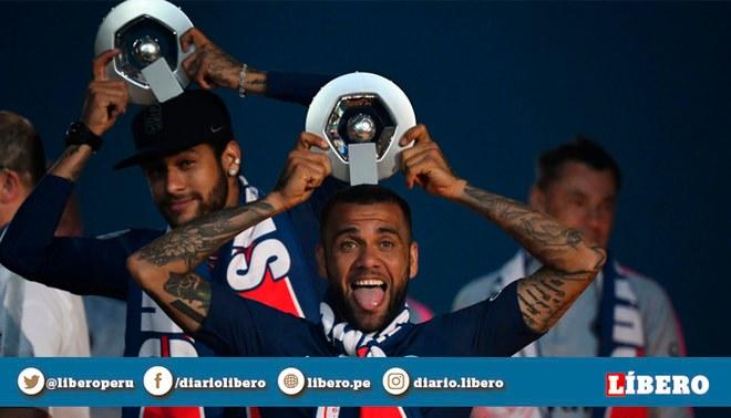 Dani Alves revela discusiones que tuvo con Neymar en el  Mundial Rusia 2018 | Foto: EFE
