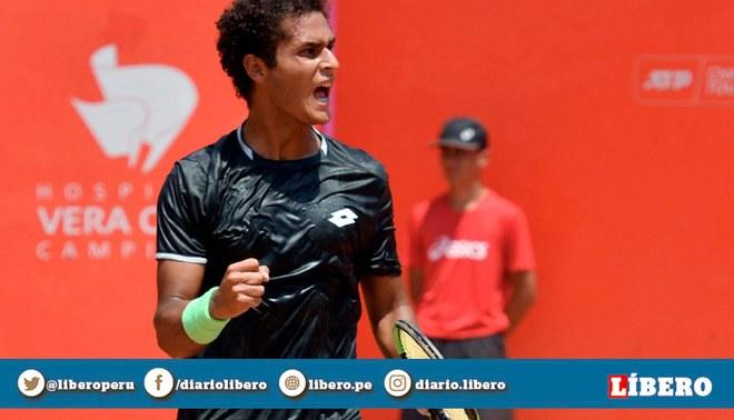 Juan Pablo Varillas alcanza el puesto 155°, su mejor ubicación en el ranking ATP, tras finalizar el Lima Challenger | Foto: GLR