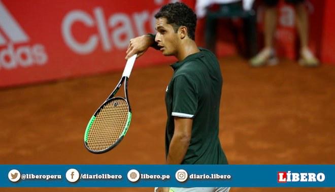 Tenis: Juan Pablo Varillas se metió a cuartos de final del ATP Guayaquil Challenger.Créditos: GLR.