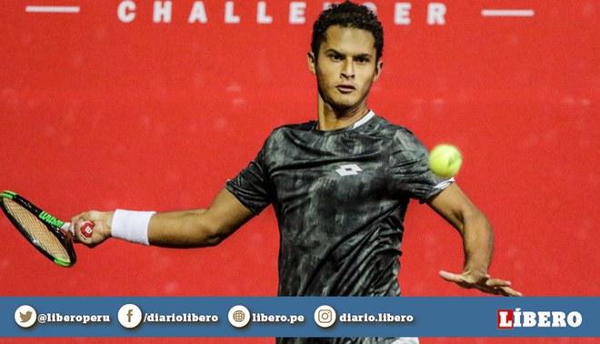 Juan Pablo Varillas se metió a las semifinales del ATP Guayaquil Challenger. Créditos: TAM.