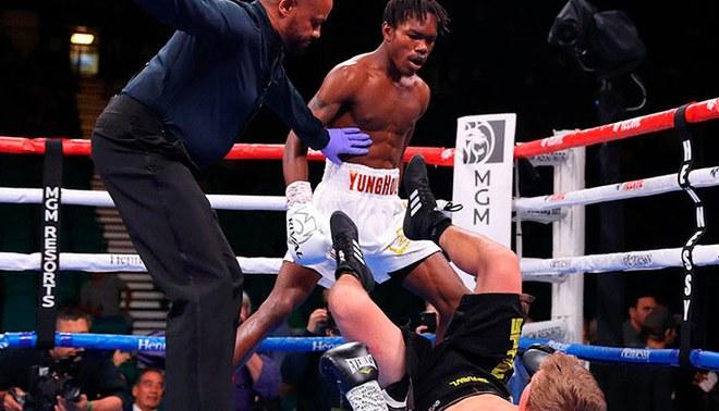 El hijo del mítico Evander Holyfield debutó en el boxeo con impresionante nocaut [VIDEO]