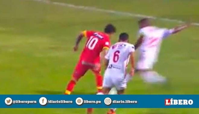 El increíble penal no cobrado a favor de Sport Huancayo en final de Copa Bicentenario