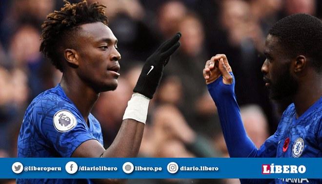 Chelsea derrotó 2-0 al Crystal Palace por la fecha 12 de la Premier League y son escoltas del Liverpool   FOTO: EFE