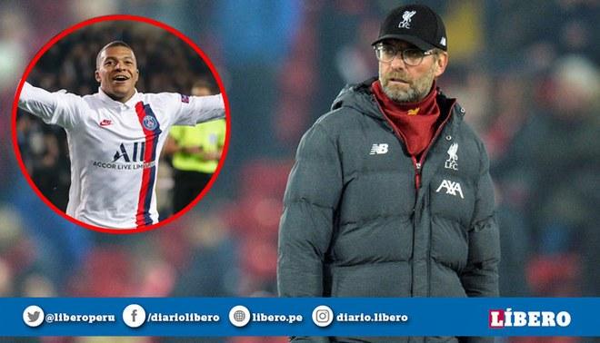 Lo descarta: Jürgen Klopp afirmó que Kylian Mbappé no llegará a Liverpool para el 2020