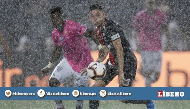 Colón vs Independiente: ¡Atención! Partido se suspendió 30 minutos por fuerte tormenta