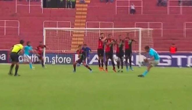 FBC Melgar vs Sporting Cristal: El magistral tiro libre de Távara para el 2-1 [VIDEO]
