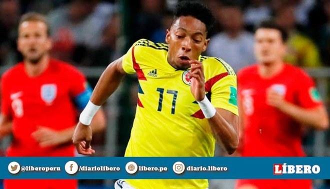 Johan Mojica fue desconvocado de Selección Colombia por lesión