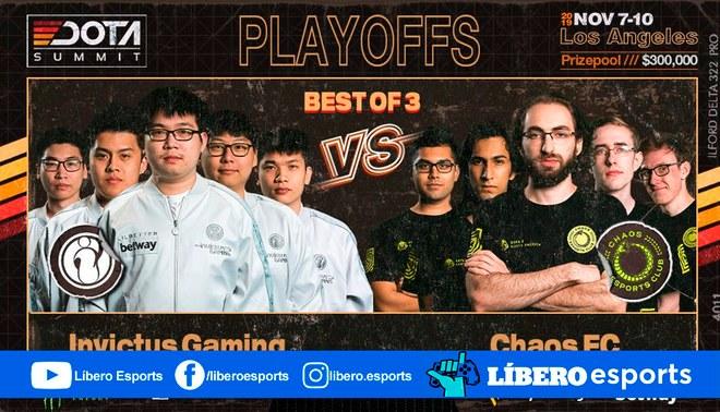 Invictus Gaming y CHAOS se enfrentan por el primer cupo a la final | Foto: BTS