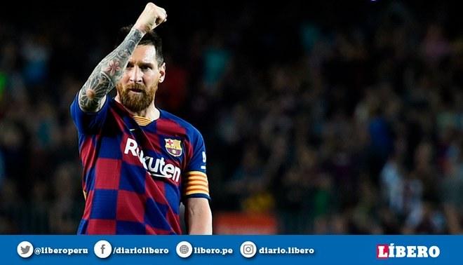Lionel Messi sigue destrozando números en el fútbol. Foto: AFP.