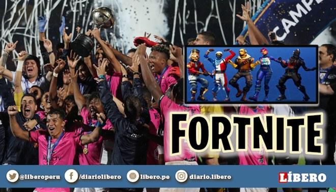 Independiente del Valle | Futbolistas se hacen virales bailando al puro estilo de Fortnite