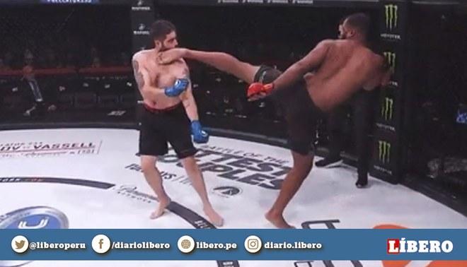 Combate de MMA duró tan solo 16 segundos por impresionante KO