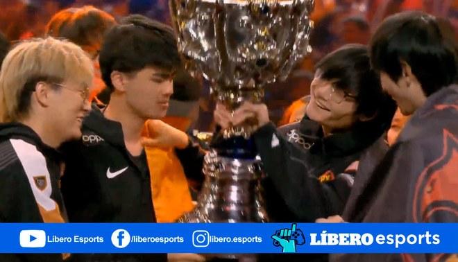 ¡China obtiene por segundo año consecutivo el título de campeón del mundial de Leaugue of Legends | Foto: Riot Games
