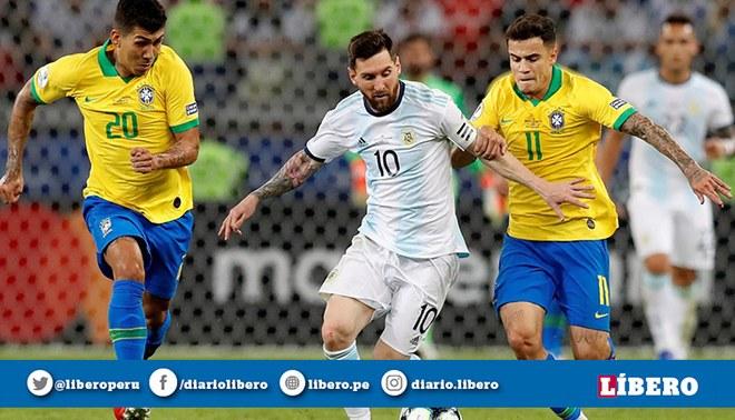 Argentina vs Brasil EN VIVO Día Fecha Hora Estadísticas Historial Canal TV TyC Sports Partido Amistoso Fecha FIFA Lionel Messi Rodrygo