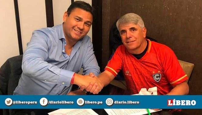 Cienciano anunció renovación de Marcelo Grioni