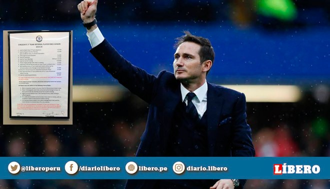 Frank Lampard y las multas internas que impuso para los jugadores del Chelsea