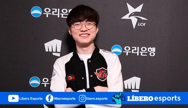¡Hay Faker para rato! SK Telecom renueva con el jugador hasta 2021