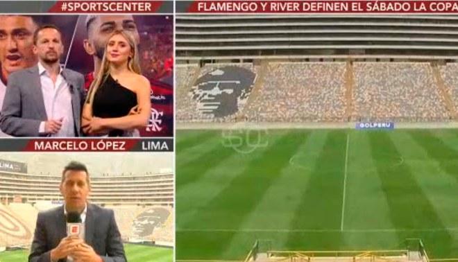 El estadio Monumental recibirá la gran final de la Copa Libertadores Créditos: Captura de TV
