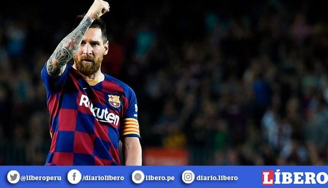 Lionel Messi sigue haciendo historia en la Champions League. Foto: AFP.