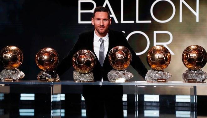 El astro argentino conlleva seis balones de oro en su carrera. Foto: FC Barcelona