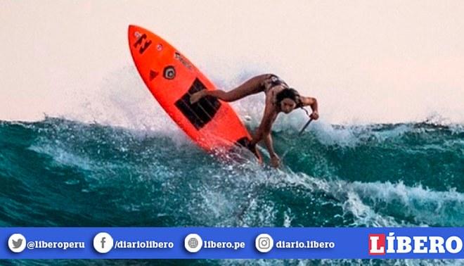 Vania Torres acabó cuarta en el Mundial SUP Surf de ISA. Créditos: Instagram.