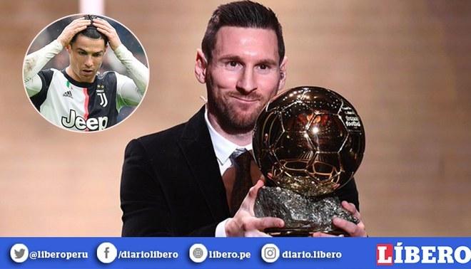 Lionel Messi recibió su sexto Balón de Oro. Nadie tiene igual o más que él.