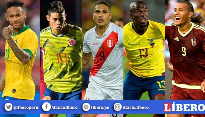 Copa América 2020: Los resultados de Perú frente a Brasil, Venezuela, Colombia y Ecuador. | Foto: Líbero