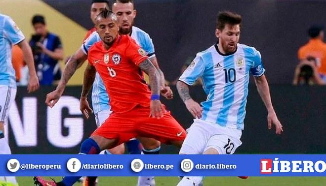 Messi y Vidal se enfrentarán en el Monumental. Créditos: EFE