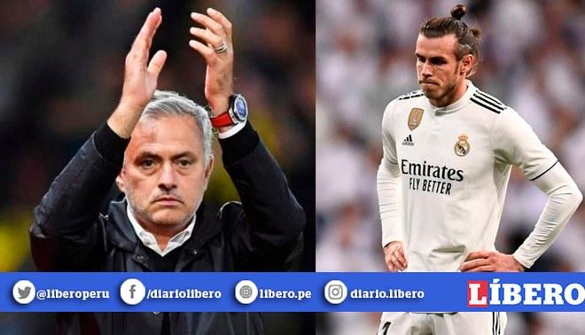 Garteh Bale y José Mourinho | FOTO: EFE