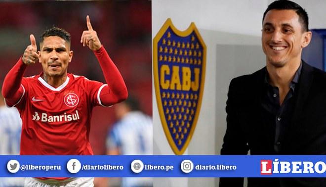 NicolásBurdisso confirmó una reunión con Inter de Porto Alegre por el jugador de Paolo Guerrero