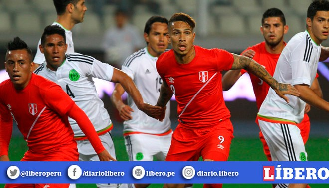 Selección Peruana disputará amistoso con México el próximo año. Créditos: GLR.