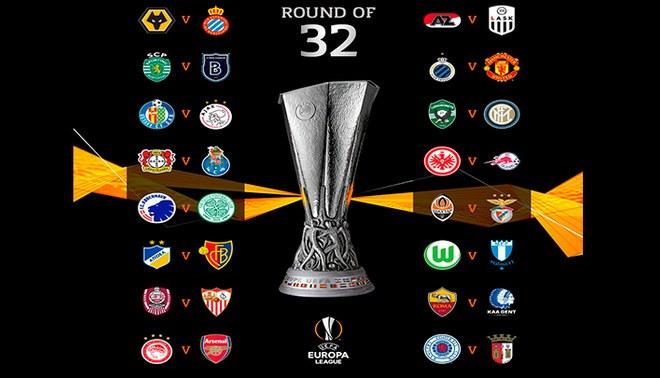 Europa League 2019/20: Así quedaron los dieciseisavos de final