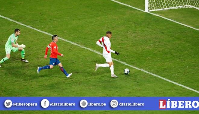 Selección Peruana: Gol que Paolo Guerrero le marcó a Chile en la Copa América figura en el top 5 del torneo