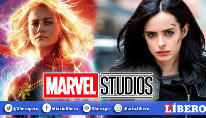 Marvel | Capitana Marvel y Jessica Jones serían las nuevas superheroínas LGBT en la Fase 5 del UCM