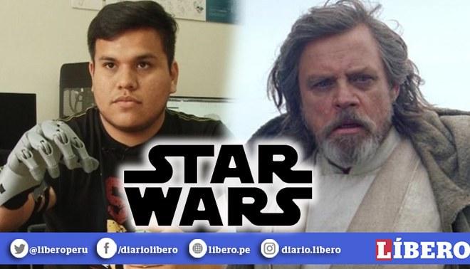 Star Wars | Mark Hamill elogió a ingeniero peruano por crear un prótesis inspirada en su personaje Luke Skywalker