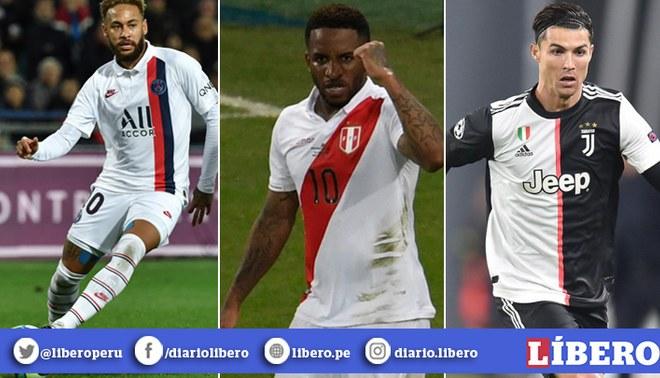 Predicciones 2020 para Neymar, Farfán, Ronaldo y los famosos del fútbol