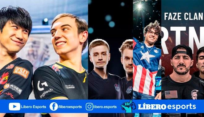 Conoce cuales fueron los equipos de esports más famosos en Twitter durante el 2019