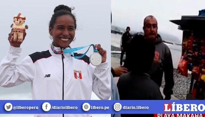 Madre de surfista subcampeona en Lima 2019 fue amenazada de muerte en Miraflores