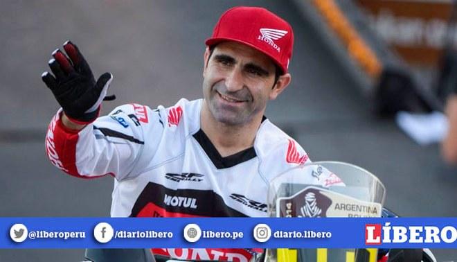 Paulo Gonçalves sufrió un fuerte accidente en el Dakar que le costó la vida | FOTO: AFP